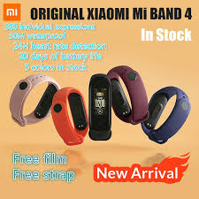 <b>Xiaomi Mi</b> Band 4/5 with nfc <b>Original 2020</b> Newest Music Smart ...