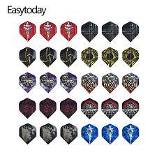 <b>Easytoday 30Pcs/sets Professional Accessories</b> Darts Flights Set ...
