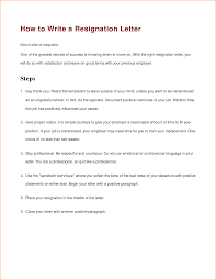 how to write a formal resignation letter cover letter sample 13 how to write resignation letter basic job appication letter