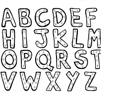 Small Picture Alphabet Printable Coloring Pages Alphabet Coloring Sheets For