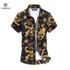 2019 <b>Summer</b> Style Shirt Men Short Sleeve <b>6XL Plus Size</b> Men'S ...