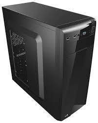 Компьютерный <b>корпус AeroCool CS</b>-<b>1101</b> 700W <b>Black</b> — купить по ...