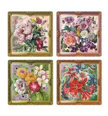 <b>Салфетка Мультидом сервировочная</b> Купеческие цветы, 31х31 ...