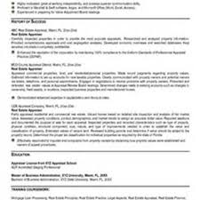 commercial real estate associate resume real estate receptionist resume real estate agent resume sample