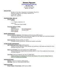 Resume Examples High School   Resume Maker  Create professional     Dawtek Resume and Esay