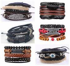 <b>Leather</b> Mixed Metals Costume Jewellery for sale   eBay