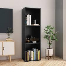 "Gear Mechanical <b>Book Cabinet/TV Cabinet Black</b> 14.2""x11.8""x44.9 ..."