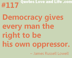 Democracy Quotes #95314, Quotes | Colorful Pictures via Relatably.com