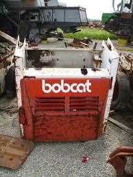 salvaged bobcat skid steer loader for used parts eq  used bobcat 632 skid steer loader parts rear photo eq 15961