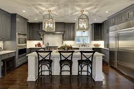 kitchen renovations large elegant u shaped eat in kitchen photo in minneapolis with gray cabinets white image island lighting fixtures kitchen luxury