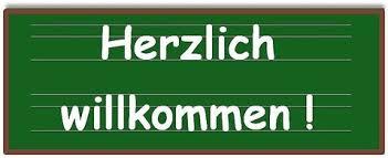 Resultado de imagen de willkommen schule