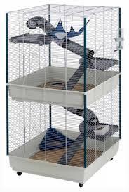 <b>Ферпласт</b> Клетка для животных на <b>колесах</b> Furet tower, 75*80 ...