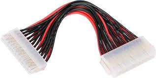 <b>Удлинитель кабеля питания материнской</b> платы 24M-24F , 20см ...