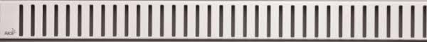 Декоративная <b>решетка</b> 844 мм <b>AlcaPlast Pure</b> глянцевый хром ...