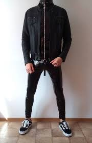 vans old skool black <b>rock</b> outfit | boys <b>guys</b> in leather pants tights <b>jacket</b>