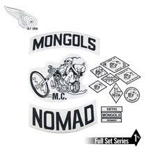 Mongols MC Patches Biker Back Nomad Rocker Patch Free Rider ...