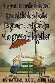 Quotes About Growing Older Together. QuotesGram via Relatably.com