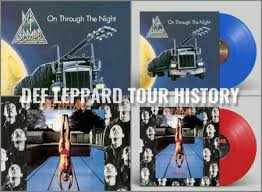 <b>DEF LEPPARD</b> To Reissue First Two Albums On Blue-Red <b>Vinyl</b> In ...