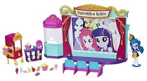 <b>Набор</b> с <b>мини</b>-куклой Hasbro <b>Equestria Girls</b> Кинотеатр, 12 см ...