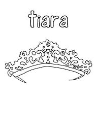 Small Picture Queen Tiara Coloring Page Coloring Coloring Pages