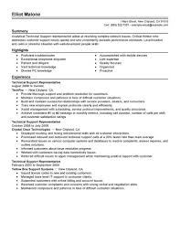 best technical support resume example livecareer technical support create my resume
