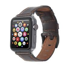 Insten <b>Genuine Leather Band For</b> Apple Watch 38mm 40mm All ...