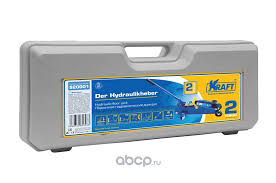 Kraft KT820001 <b>Домкрат подкатной гидравлический</b> 2 т. (кейс)