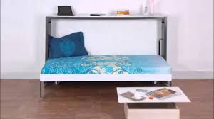 horizontal single wall bed by prab space saving concepts youtube master bedroom designs master bedroom wall bed space saving