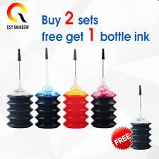 CMYK SUPPLIES <b>4 Pcs</b> Universal 30ml dye ink KCMY Refill Ink kit <b>For</b>