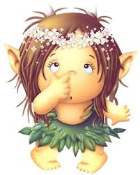 Resultado de imagen de dibujo de niña con OREJAS DE DUENDE