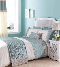 blue paint bedding set