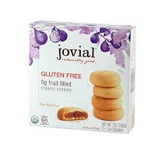 Jovial <b>Fig Fruit</b> Filled Gluten Free <b>Organic Cookies</b>, 7.5-Ounce (Pack ...