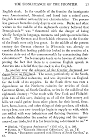 the project gutenberg ebook of the frontier in american history 23 non english stock in the crucible of the frontier the immigrants were americanized liberated and fused into a mixed race english in neither