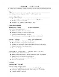 culinary resume objective template culinary resume objective