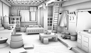 majoring in interior design awesome interior uncharted 2 hut interior high resolution modelling ambient occlusion