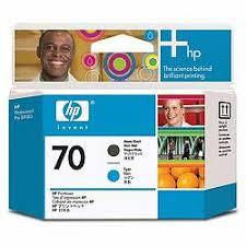 <b>Печатающая головка HP Print</b> Head №70 Matte Black & Cyan ...