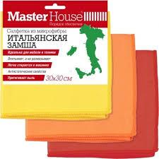 <b>Салфетка Master House</b> Итальянская замша 30х30см ...