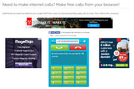 websites to call phone online for out registration call2friends screenshot