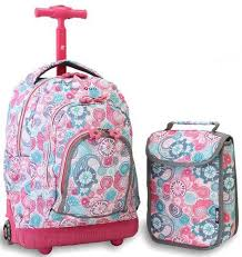 Top 10 Best <b>Rolling Backpacks</b> For Girls in 2020