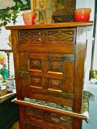 Single-door diamond panel reproduction <b>nightstand with drawer</b> ...
