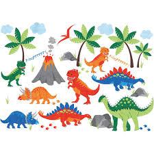 dinosaur wall stickers jojo maman bebe dinosaur wall stickers