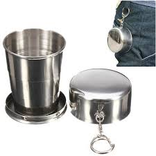 Home & Garden Cups & Saucers <b>Stainless Steel</b> Portable <b>Outdoor</b> ...