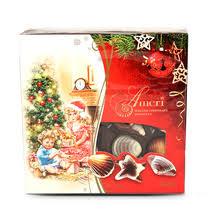 <b>Шоколадные конфеты Ameri</b> с начинкой пралине ракушки купить ...