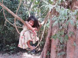 photo essay cute kids in and adventurous kate this jungle baby who now graces the back of my business cards hung out in a tree at angkor wat