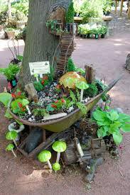 fairy garden decor home  fairy tree house