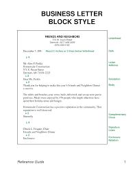 business letter report format business letter  formal