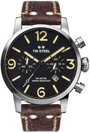 <b>Часы</b> наручные <b>мужские TW</b> Steel, MS4, коричневый — купить в ...