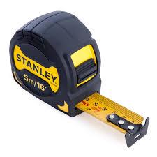 <b>Рулетка STANLEY grip</b> tape 5 м х 28 мм купить недорого в ...