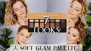 7 Looks | <b>Soft</b> Glam Palette <b>Anastasia Beverly Hills</b> - YouTube