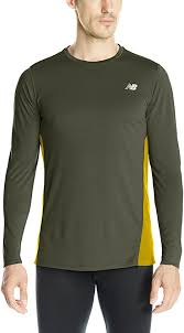 New Balance Men's Accelerate Long Sleeve, Defence ... - Amazon.com